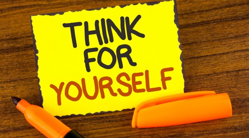 SIgn: Think for yourself